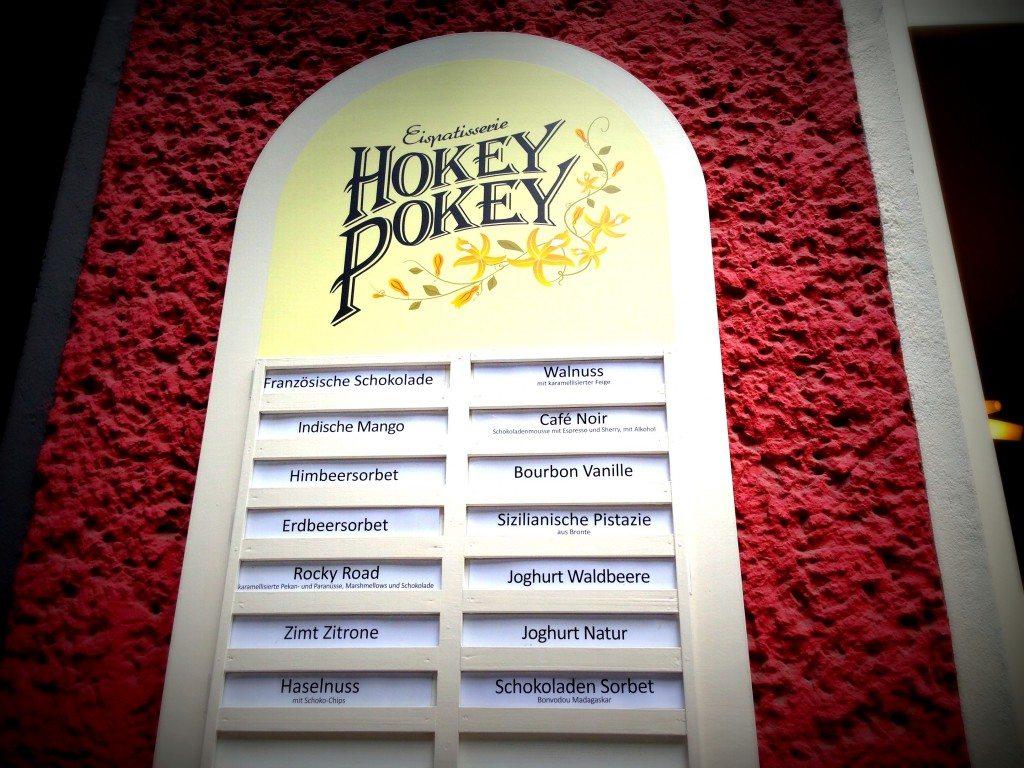 Hokey-Pokey-Eis-Sorten