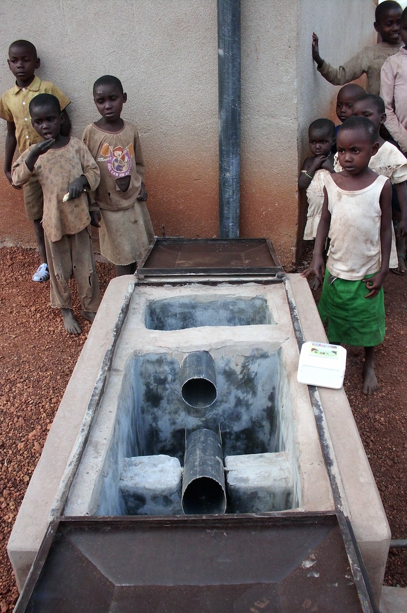 Mechanischer Wasserfilter Firstflush
