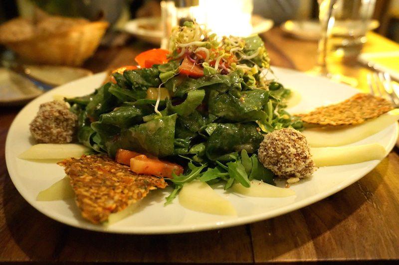 Berlin-Bistro-Bardot-Spinat-Salat