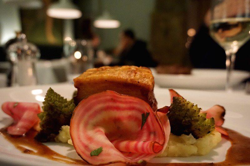 Berlin-Restaurant-Schatz-Schweinekrustebraten