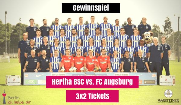 Gewinnspiel | Hertha BSC vs. FC Augsburg
