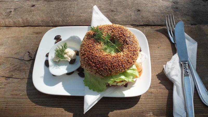 Cafe Berlin Bagel Man