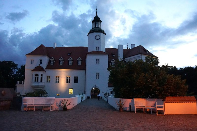 Brandenburg-Schlosshotel-Fürstlich-Drehna-Abend