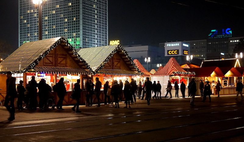 Buden Berlin Alexanderplatz Weihnachtsmarkt