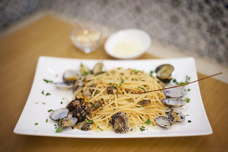 berlin-restaurant-fischtheke-spaghetti-vongole-2