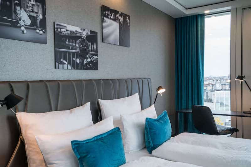 Motel one berlin upper west berlin ick liebe dir for Zimmer motel one