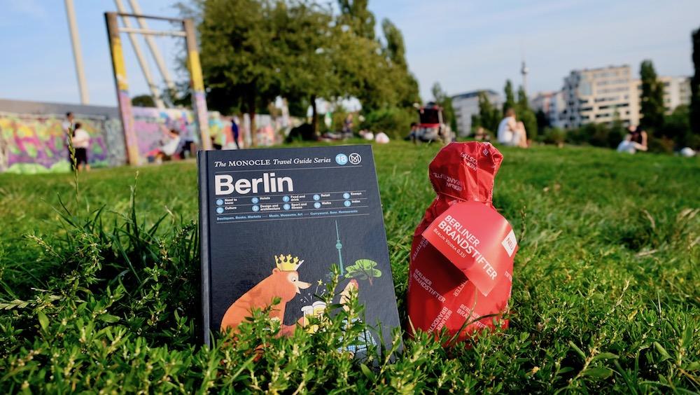Vodka von Berliner Brandstifter und Monocle Travel Guide Berlin