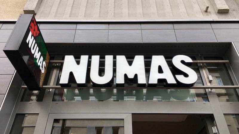 Logo vom Numas in Berlin Mitte