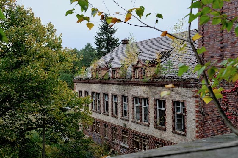Lost Places: Chirurgie-Krankenhaus in Beelitz Heilstätten