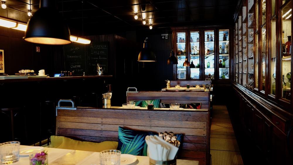 Einrichtung der Brasserie Colette von Tim Raue