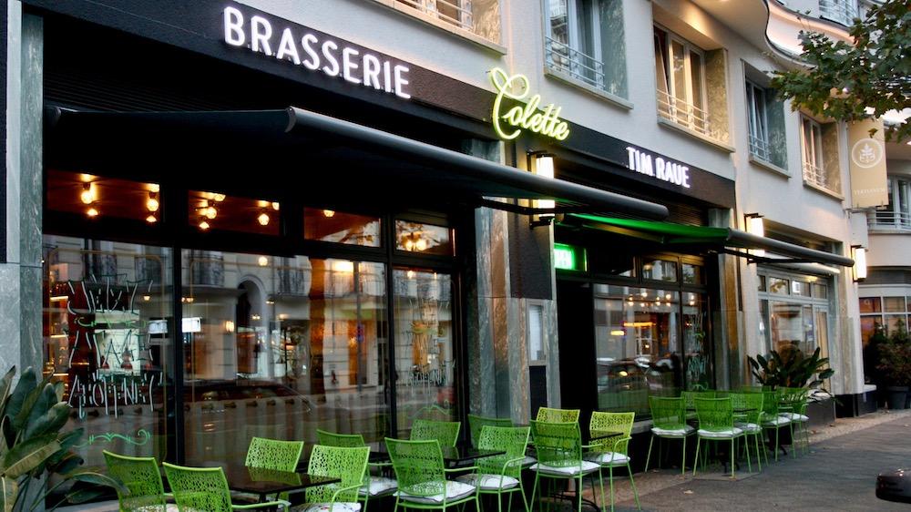 Außenansicht der Brasserie Colette von Tim Raue