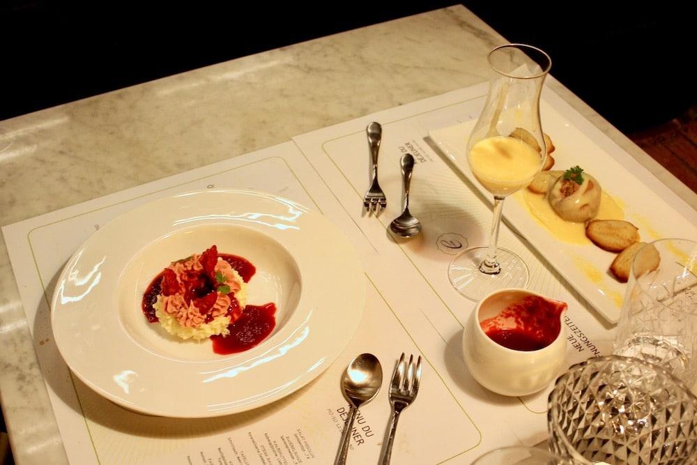 Dessert in der BRasserie Colette