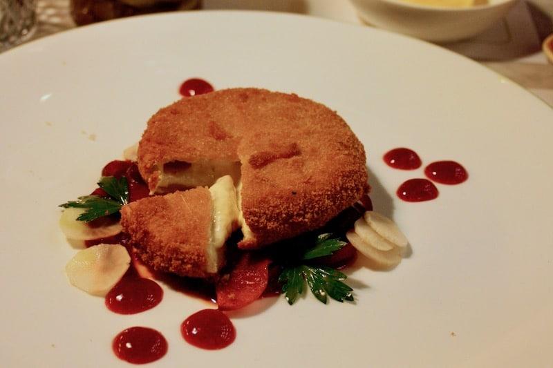 Gerichte in der Brasserie Colette von Tim Raue