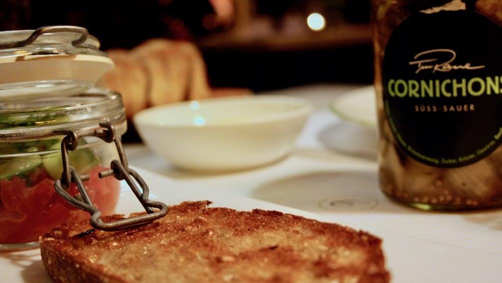 Vorspeise in der Brasserie Colette von Tim Raue