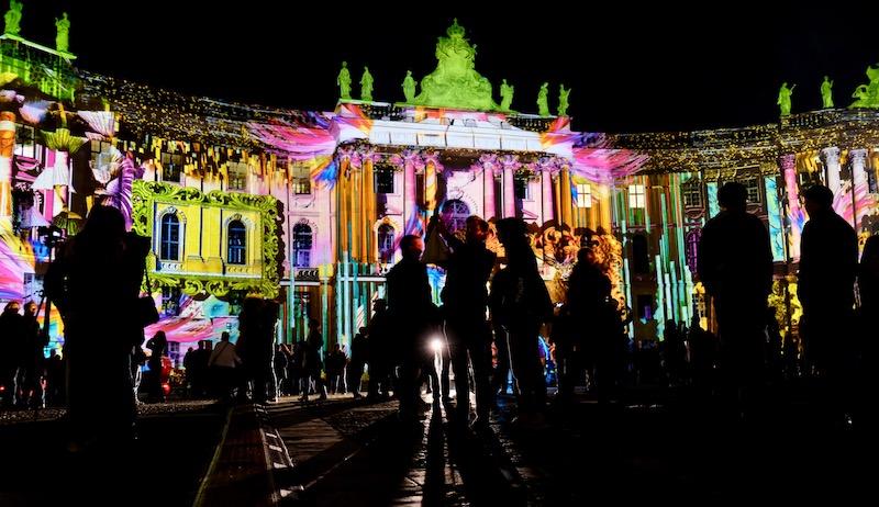 Juristische Fakultät zum Festival of Lights in Berlin 2017