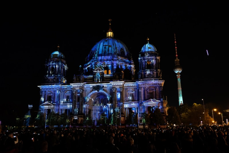 Berliner Dom zum Festival of Lights in Berlin 2017