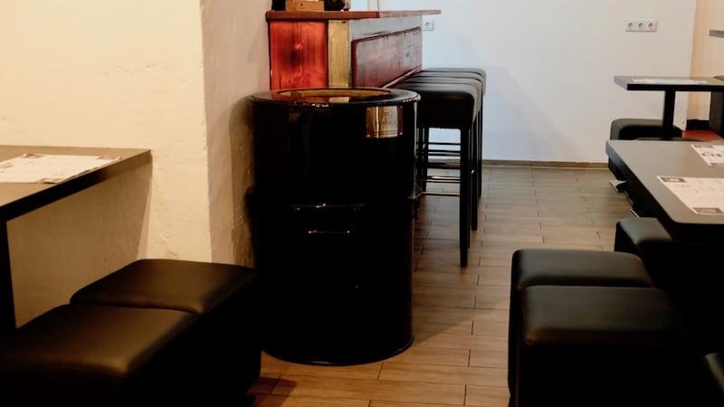 Tandoori-Ofen im Moksa in Neukölln