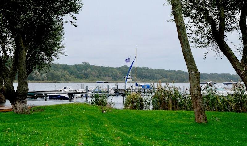 Seeblick vom Hafenrestaurant Ernest am Schwielowsee