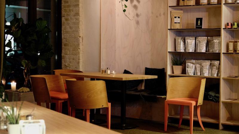 Sitzecke im Mana Restaurant