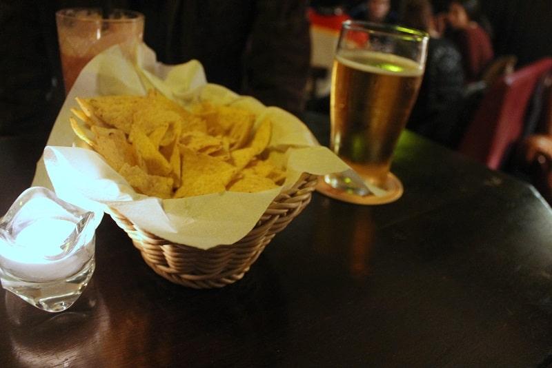 Cider, Nachos, MacLaren's Pub