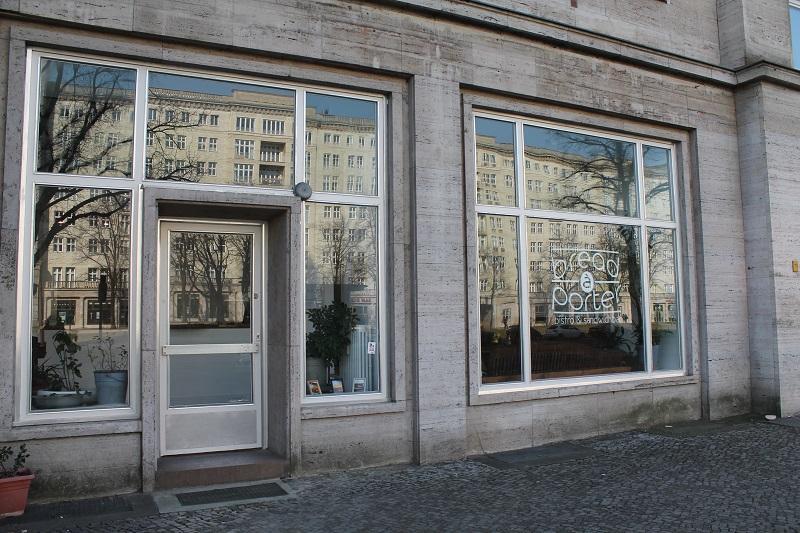 Eingang, Restaurant