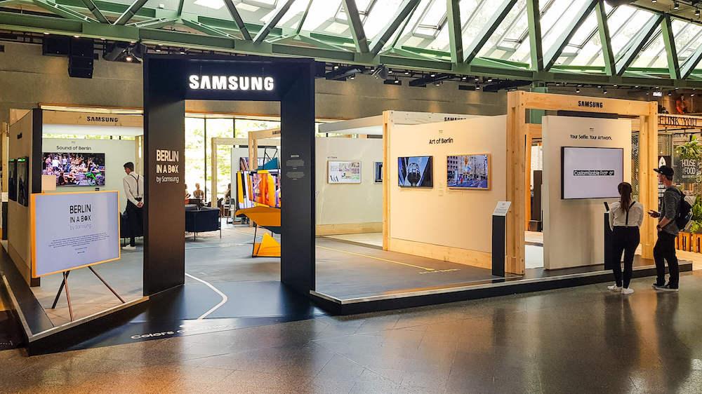 Samsung Präsentiert Berlin In A Box Berlin Ick Liebe Dir