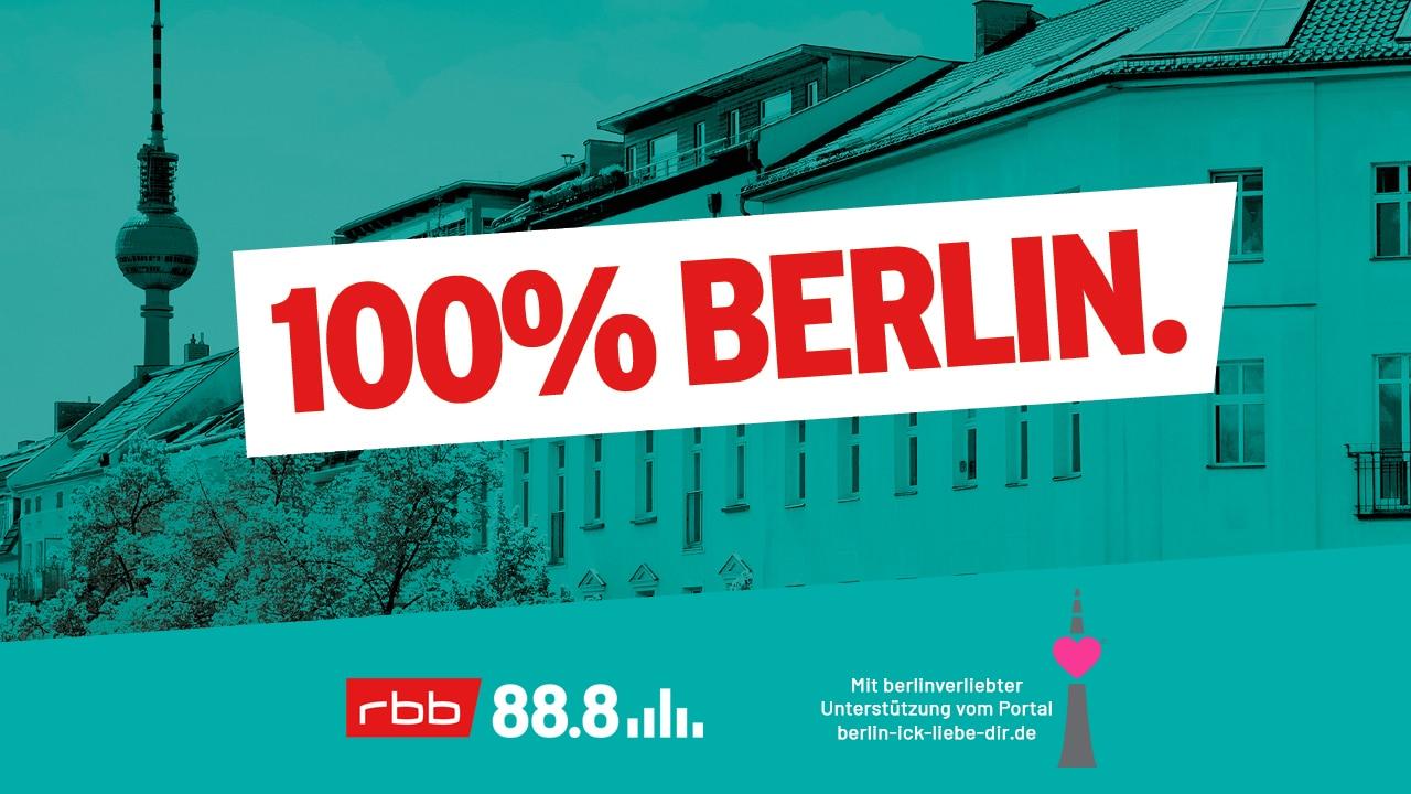 """""""100% Berlin"""" – Mit dem neuen Podcast von rbb 88.8 Berlin noch mal neu entdecken"""